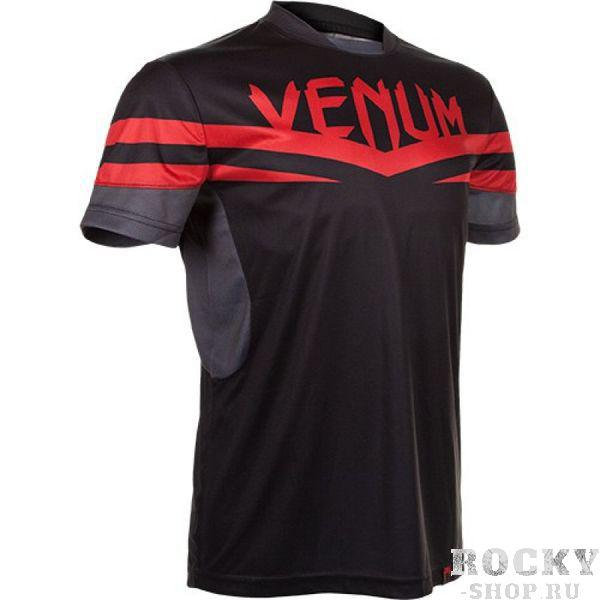 Футболка Venum Sharp Dry Tech T-shirt - Red Devil VenumФутболки / Майки / Поло<br>Фуболка VENUM SHARP DRY TECH это новое поколение тренировочных футболок от Venum. Благодаря технологии Dry Tech, позволяющей регулировать расход тепла путём выявления областей нагревания,новая футболка идеально подходит для тренировок.&amp;nbsp;Создана специально для бойца UFC Жозе Альдо.Технические характеристики:- 100% высококачественный хлопок- Высокое качество шелкографии- Спортивная подгонка- Сделано в Бразилии<br>