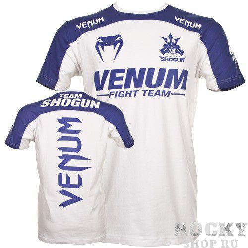 Купить Футболка Venum Shogun Team T-Shirt White/Blue (арт. 3107)