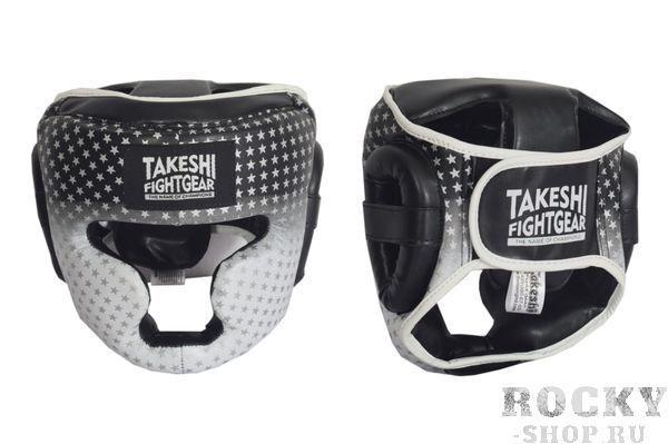 Шлем боксерский детский Takeshi Star Kids Black/White Takeshi FG