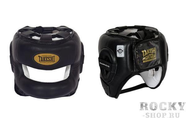 Шлем боксерский с бампером Takeshi Ruling Elite Black Takeshi FG