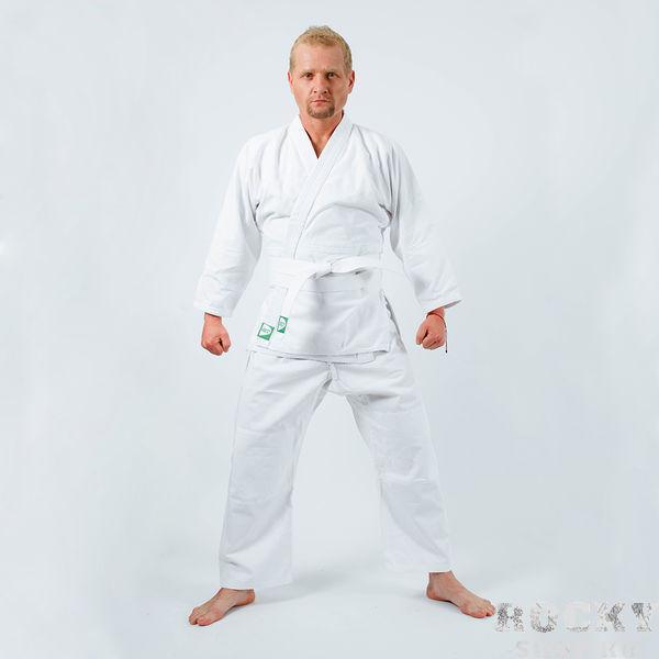 Кимоно для дзюдо Green Hill, белое, 130 см Green Hill