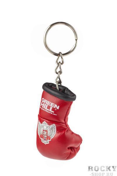 Брелок сувенирный боксерская перчатка Федерация бокса России красный Green Hill фото