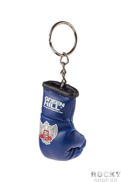 Брелок сувенирный боксерская перчатка Федерация бокса России синий Green Hill фото