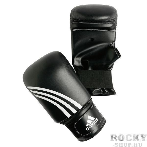 Перчатки боксерские Performer, Чёрные AdidasCнарядные перчатки<br>&amp;lt;p&amp;gt;Преимущества:&amp;lt;/p&amp;gt;     &amp;lt;strong&amp;gt;   &amp;lt;/strong&amp;gt;<br>    &amp;lt;li&amp;gt;Более толстый и упругий наполнитель защищает кисть во время  тренировок со снарядами&amp;lt;/li&amp;gt;<br>    &amp;lt;li&amp;gt;Застёжка — липучка на эластичной резинке надёжно фиксирует  перчатку на руке спортсмена&amp;lt;/li&amp;gt;<br>    &amp;lt;li&amp;gt;Система I-PROTECT равномерно  распределяет ударные колебания по всей поверхности перчатки&amp;lt;/li&amp;gt;<br>    &amp;lt;li&amp;gt;Укороченный открытый большой палец&amp;lt;/li&amp;gt;<br>    &amp;lt;li&amp;gt;Внутренний материал препятствует задержке влаги внутри  перчатки и способствует скорейшему её выводу наружу&amp;lt;/li&amp;gt;<br>    &amp;lt;li&amp;gt;Удобный транспортный чехол на липучке&amp;lt;/li&amp;gt;<br>    &amp;lt;li&amp;gt;Материал - натуральная кожа&amp;lt;/li&amp;gt;<br>