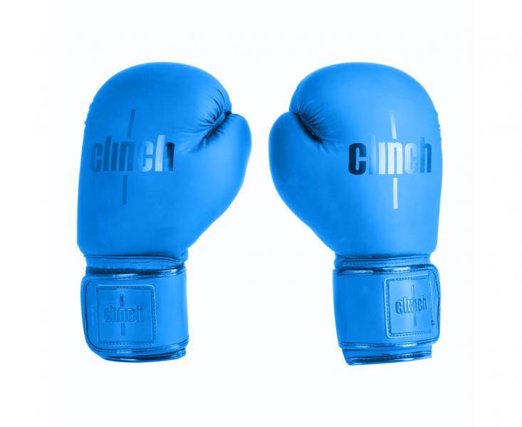 Перчатки боксерские Clinch Mist синие, 12 унций Clinch Gear