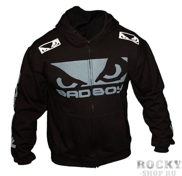 Толстовка Bad Boy Pro Sereis Walk In Zip Black