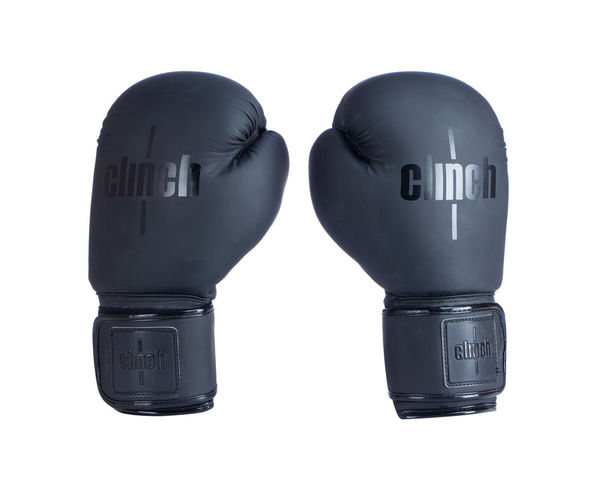 Перчатки боксерские Clinch Mist черные, 12 унций Clinch Gear