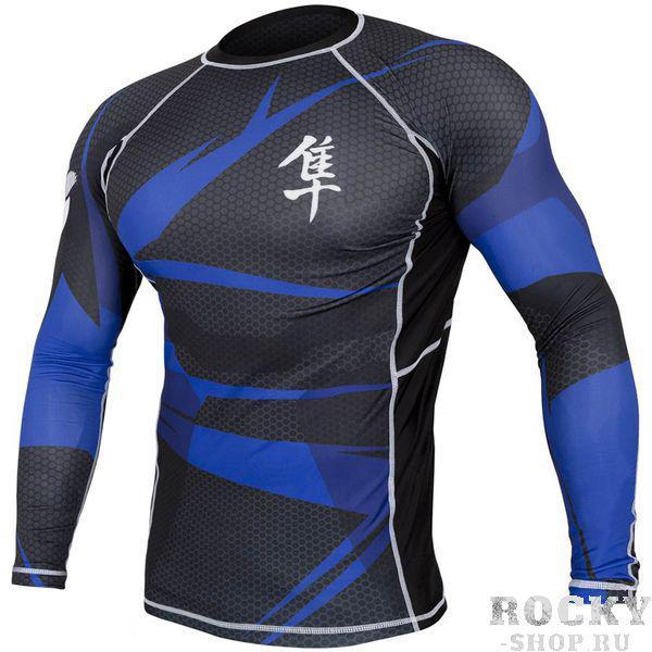 Рашгард Hayabusa Metaru Rashguard Black/Blue HayabusaРашгарды<br>- высокое качество. - исключительный креативный внешний вид рашгарда. - антибактериальный. - сохранит ваше тело сухим и мышцы теплыми. - качественный принт.<br><br>Размер INT: L