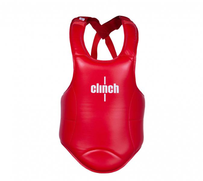 Защита корпуса Clinch Thai Chest Guard красная Clinch Gear