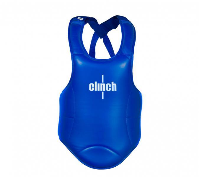 Защита корпуса Clinch Thai Chest Guard синяя Clinch Gear