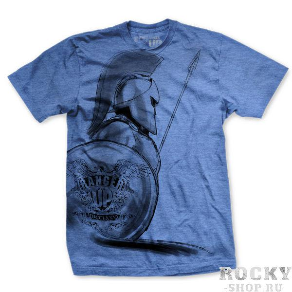 Купить Футболка Ranger Up Spartan Ultra Thin Vintage T-Shirt Blue (арт. 3186)