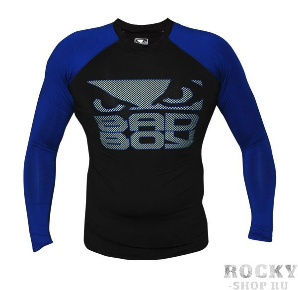 Рашгард Bad Boy Engage Rashguard Black/Blue - L/S