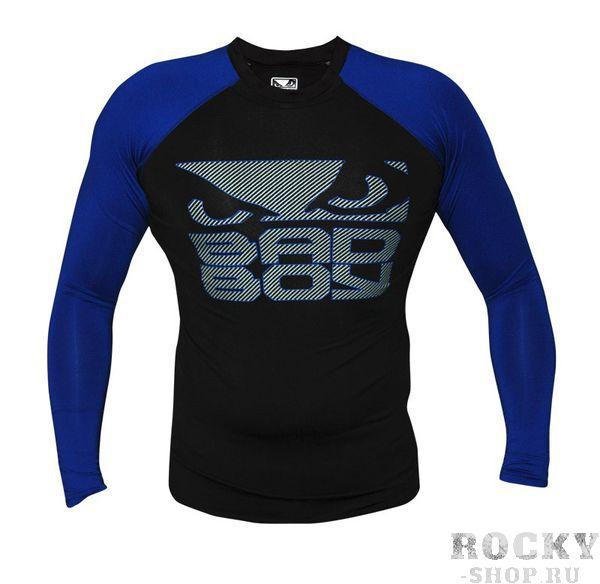 Купить Рашгард Bad Boy Engage Rashguard Black/Blue - L/S (арт. 3207)