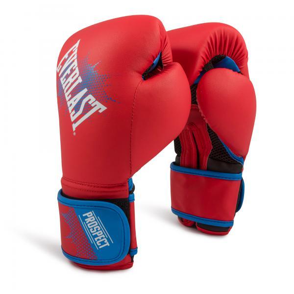 Детские боксерские перчатки Everlast Prospect Red, 6 OZ Everlast
