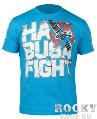 Купить Футболка Hayabusa Fight T-shirt Blue (арт. 3220)