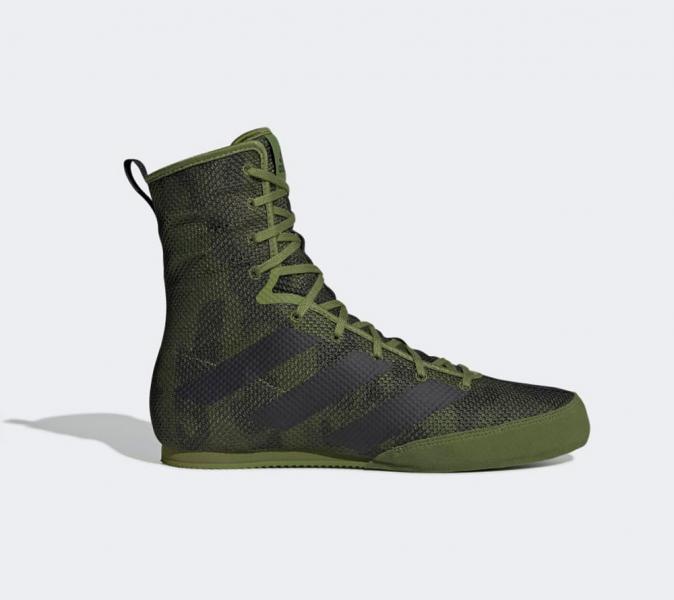 Боксерки Box Hog 3 зелено-черные Adidas