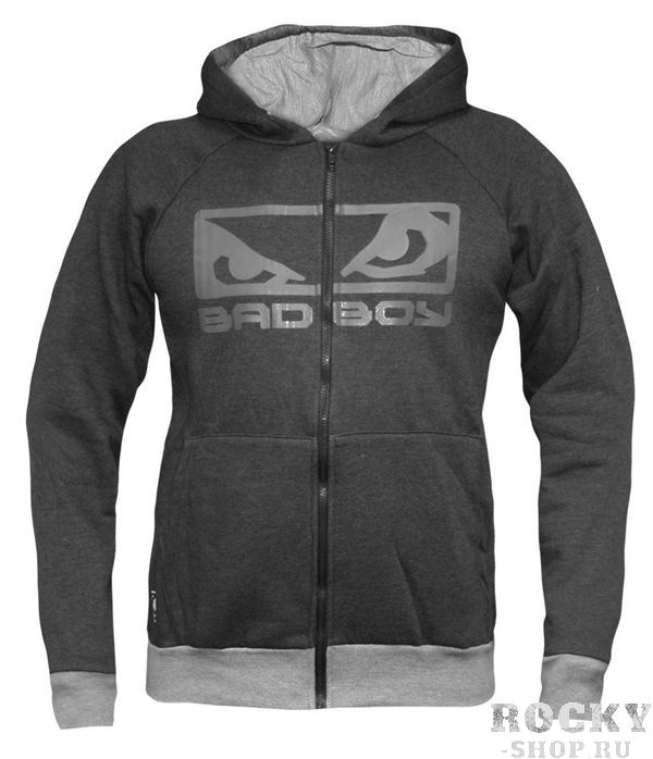 Толстовка Bad Boy Eyes Hoodie Charcoal Marl