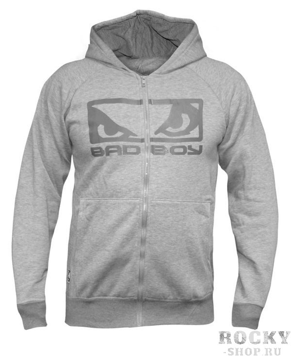 Толстовка Bad Boy Eyes Hoodie Grey Marl Bad Boy