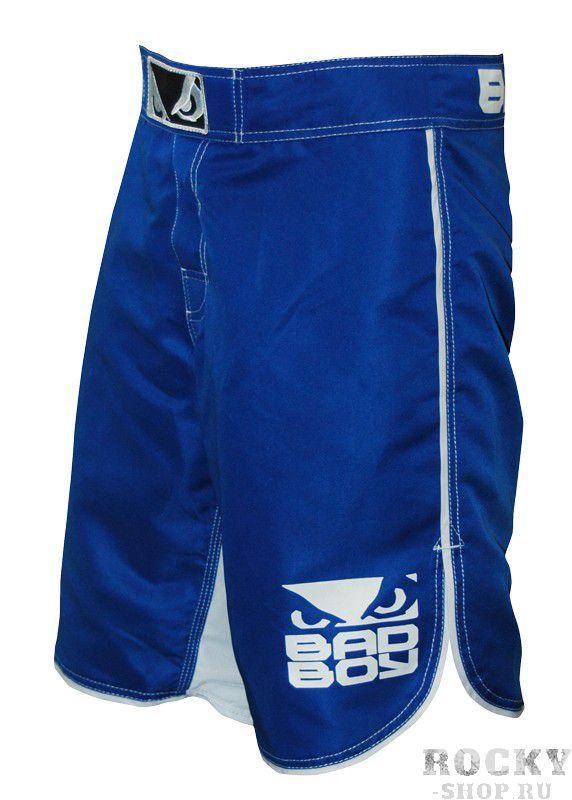 Шорты ММА Bad Boy MMA Blue/White (арт. 3264)  - купить со скидкой