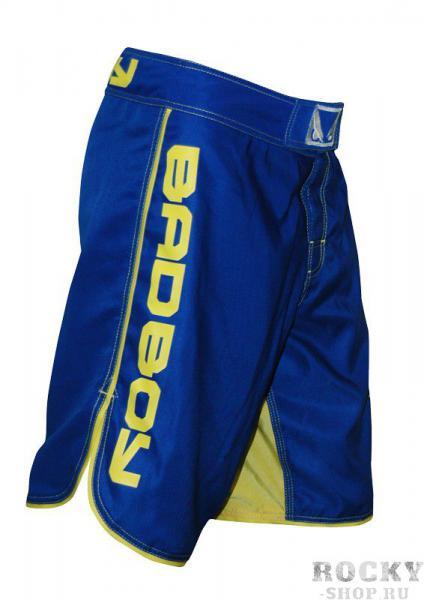 Купить Шорты ММА Bad Boy MMA Blue/Yellow (арт. 3265)