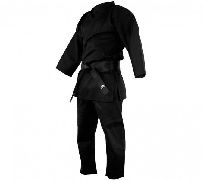 Кимоно для карате Bushido черное Adidas