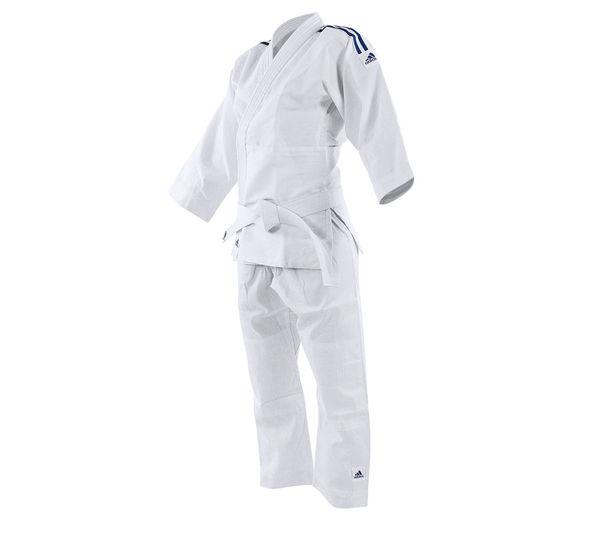 Кимоно для дзюдо подростковое Evolution II белое Adidas