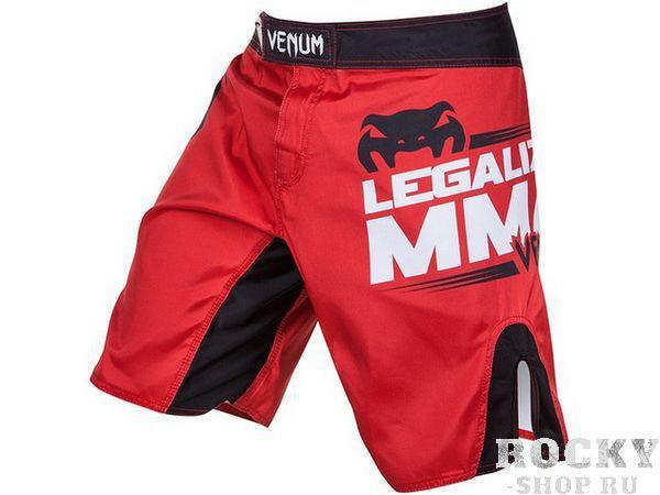 Шорты ММА Venum Legalize MMA Red VenumШорты ММА<br>Радуем вас новинками от Venum. Представляем вам новые шорты Venum All Flag Black/RedИдеально подходят для всех типов единоборств. В этих шортах ваши движения будут лёгкими и нескованными. Вышитые логотипы Venum спереди и сзади. Материал -полиэстер. Лёгкие и практичные. Удобная двойная застёжка и шнурок.<br><br>Размер INT: L