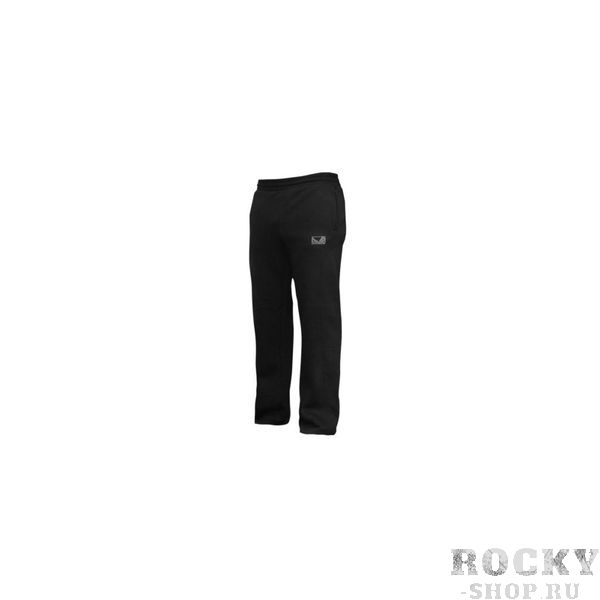 Штаны Bad Boy Open Hem Cotton Joggers - Black