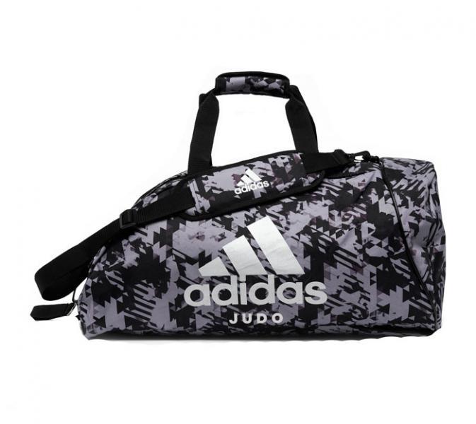 Сумка-рюкзак Training 2 in 1 Camo Bag Judo L черно-камуфляжная Adidas (арт. 32768)  - купить со скидкой