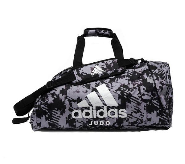 Сумка-рюкзак Training 2 in 1 Camo Bag Judo M черно-камуфляжная Adidas (арт. 32775)  - купить со скидкой