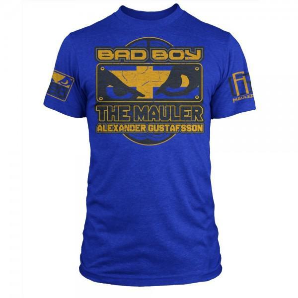 Купить Футболка Bad Boy Alexander Gustafsson Walkout - UFC Fight Night 37 Royal Blue Heather (арт. 3284)