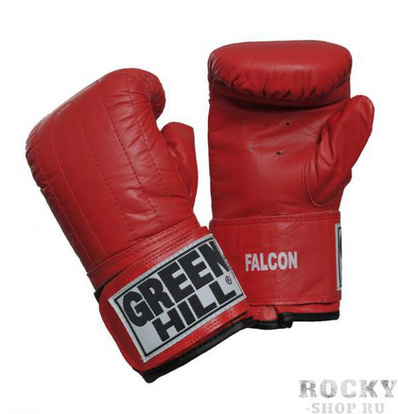 Перчатки снарядные FALCON, Красные Green HillCнарядные перчатки<br>Снарядные перчатки на липучке. <br> Натуральная кожа<br> Застёжка липучка<br><br>Размер: L
