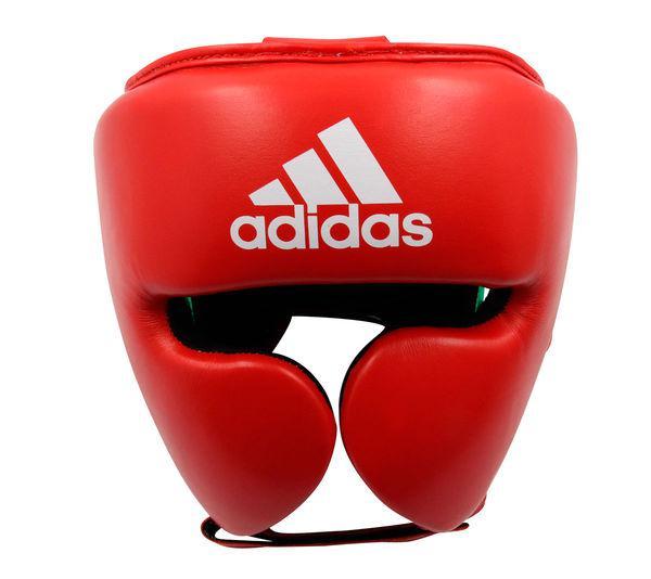 Шлем боксерский AdiStar Pro Headgear красно-зеленый Adidas