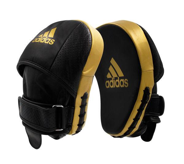 Лапы AdiStar Pro Speed Focus Pad черно-золотые Adidas