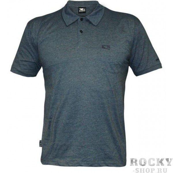 Купить Поло Bad Boy Plain Polo Shirt - Air Force Blue (арт. 3303)