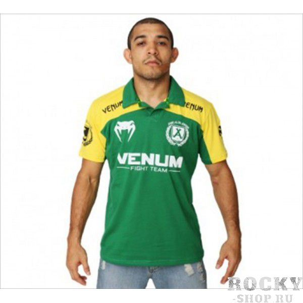 "Поло Venum ""Jose Aldo Junior Signature"" Polo - Brazil Edition"