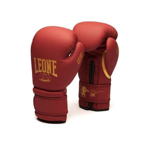 Боксерские перчатки Leone 1947 BORDEAUX ED GN059X, 10 унций Leone