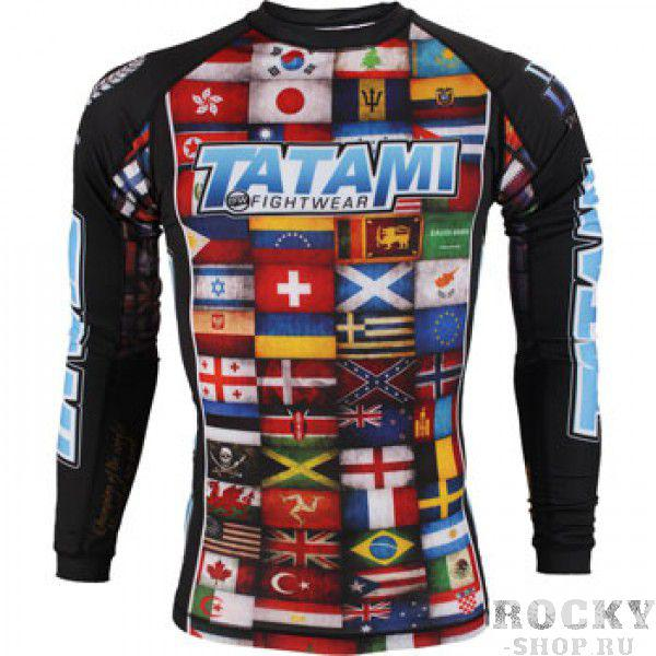 Купить Рашгард Tatami Dean Lister Flags Rash Guard (арт. 3311)