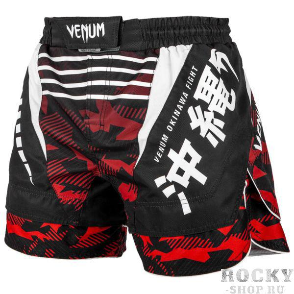 Шорты Venum Okinawa 2.0 Black/Red Venum