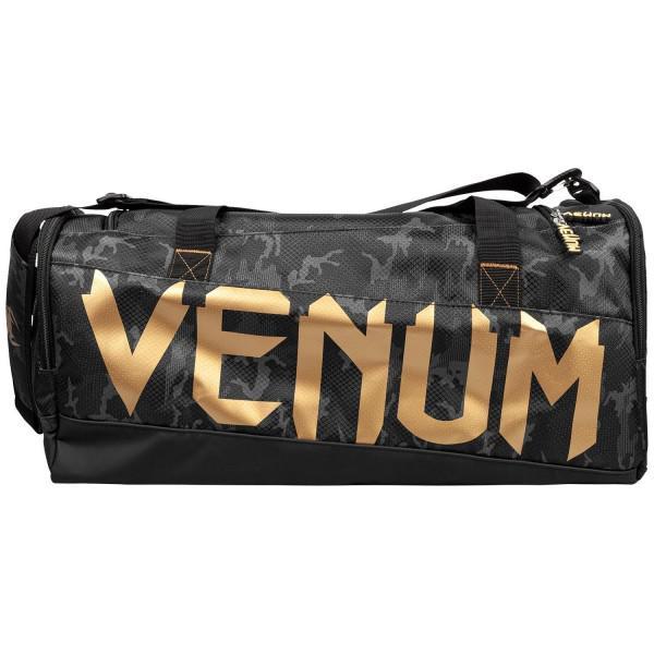 Сумка Venum Sparring Dark Camo/Gold Venum