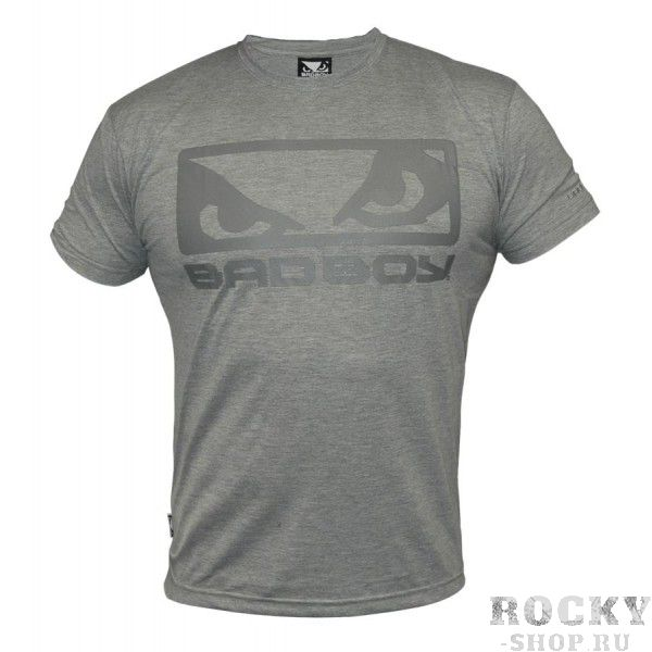 Футболка Bad Boy Eyes Tee Shirt - Grey Marl Bad Boy