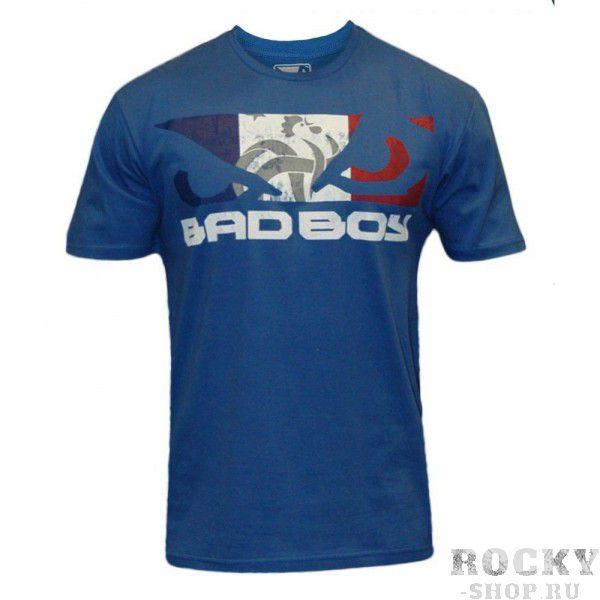 Футболка Bad Boy World Cup Tee - France Bad BoyФутболки / Майки / Поло<br>Футболки Bad Boy прекрасно походят как для занятий спортом так и для ежедневной одежды.100% ХЛОПОК&amp;nbsp;<br>