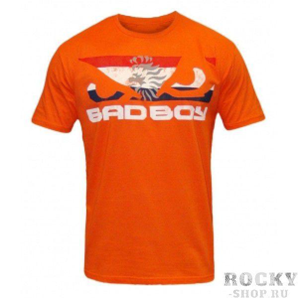 Футболка Bad Boy World Cup Tee - Netherlands Bad BoyФутболки<br>Футболки Bad Boy прекрасно походят как для занятий спортом так и для ежедневной одежды. 100% ХЛОПОК<br><br>Размер INT: S