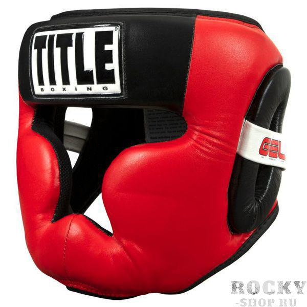 Шлем для бокса Title GEL Radiate Full Training Headgear TITLE