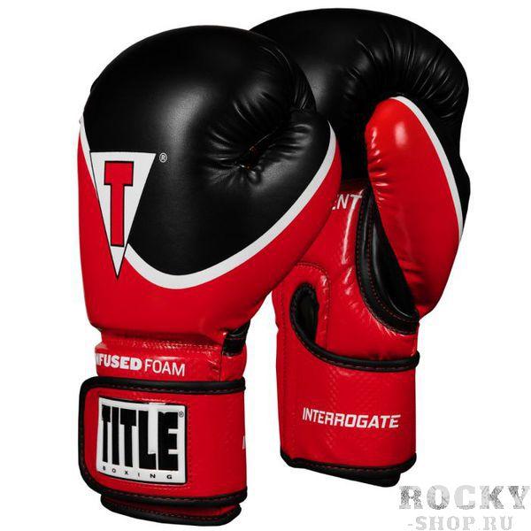 Боксерские перчатки Title Infused Foam 2.0 Red/Black, 16 OZ TITLE