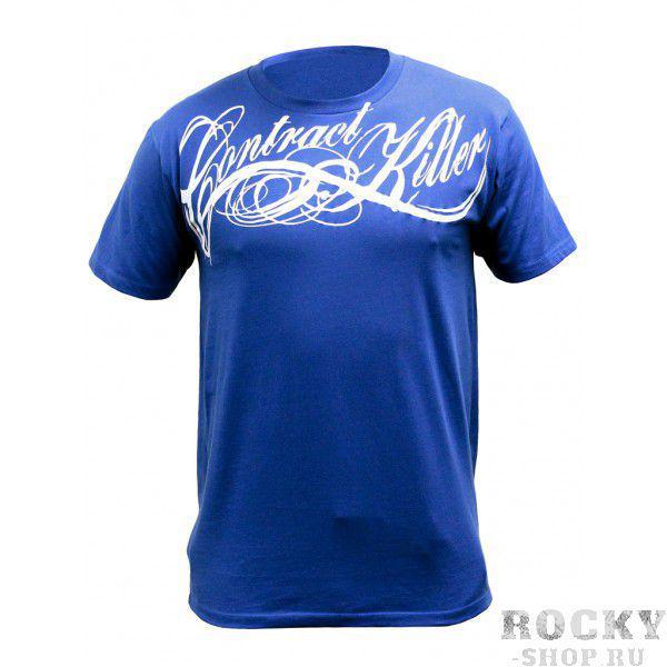 Футболка Contract Killer OG Script Blue T-Shirt Contract KillerФутболки / Майки / Поло<br>Необычные футболки от известного бренда Contract Killer-100% высококачественный хлопок- высокое качество швов- хорошо сделанный принт<br>