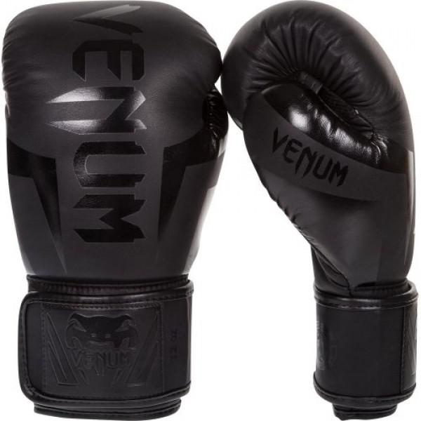 Детские боксерские перчатки Venum Elite Neo Black, 6 oz Venum