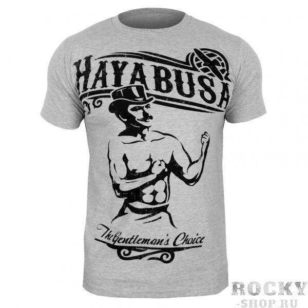 Купить Футболка Hayabusa Gentleman's Choice T-Shirt - Grey (арт. 3384)