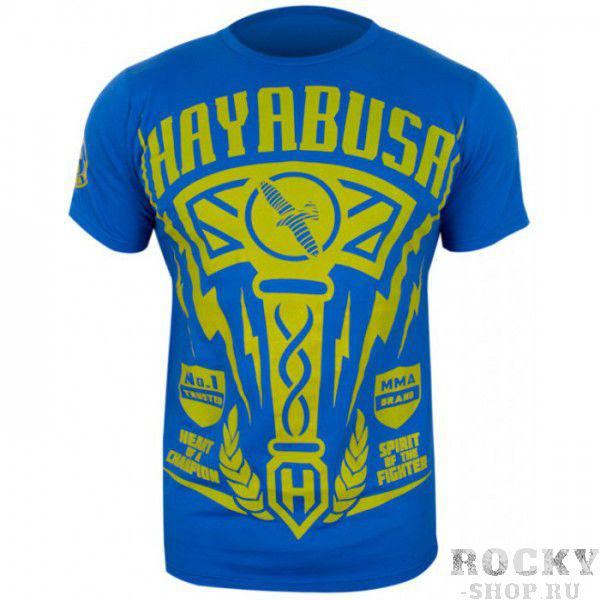 Футболка Hayabusa Hammer T-shirt Blue (арт. 3385)  - купить со скидкой