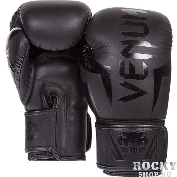 Боксерские перчатки Venum Elite Neo Black, 8 oz Venum